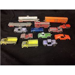 VINTAGE LESNEY & DINKY CAR LOT