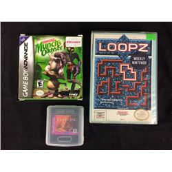 BOXED VIDEO GAME LOT