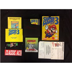 IN BOX COMPLETE SUPER MARIO BROS 3 IN EXCELLENT CONDITION