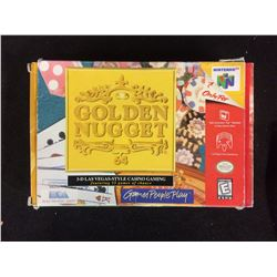 IN BOX N64 GOLDEN NUGGET VIDEO GAME