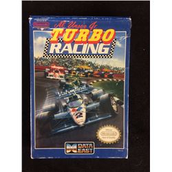NES TURBO TWINS VIDEO GAME IN BOX