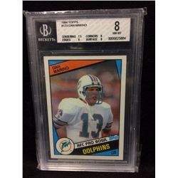 DAN MARINO ROOKIE CARD BECKETT 8