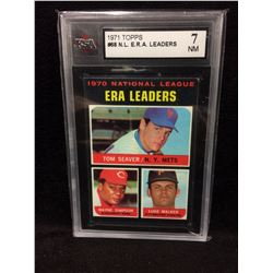 1971 TOPPS NL ERA LEADERS KSA 7