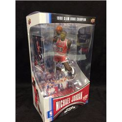 UPPER DECK MICHEAL JORDAN SLAM DUNK CHAMPION STATUE WITH CARD