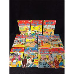 SILVER AGE ARCHIE COMIC BOOK LOT