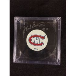 MONTREAL CANADIANS SIGNED PUCK