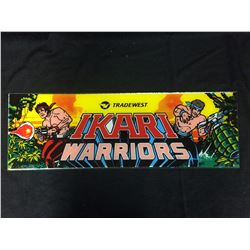 VINTAGE ARCADE BACK GLASS AKIRI WARRIORS