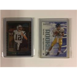 TOM BRADY ROOKIE CARD LOT