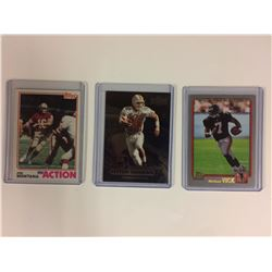 NFL ROOKIE CARD LOT PAYTON MANNING MICHEAL VICK