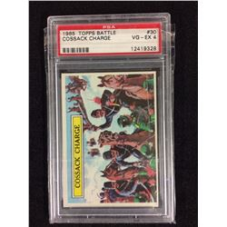 1965 TOPPS BATTLE COSSACK CHARGE