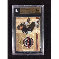 2005 UPPER DECK ENTRY DRAFT #1 SIDNEY CROSBY BECKETT 9.5