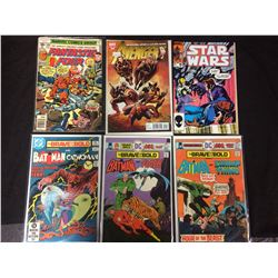 SUPERHERO COMIC BOOK LOT