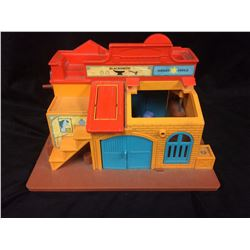 VINTAGE FISHER PRICE SALOON