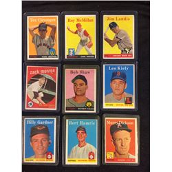 1950'S TOPPS BASEBALL CARD LOT