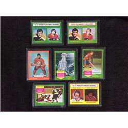 1970'S OPC HOCKEY STARS LOT