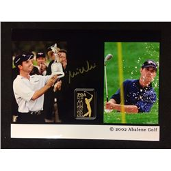 AUTOGRAPHED 10 X 14 MIKE WEIR PHOTO