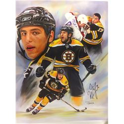 TIANG ZUMZHONG CNAVAS PRINT AUTOGRAPHED BY MILAN LUCIC