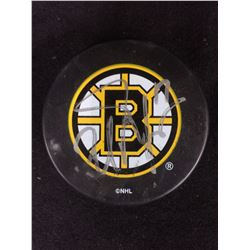 MILAN LUCIC SIGNED BOSTON BRUINS HOCKEY PUCK