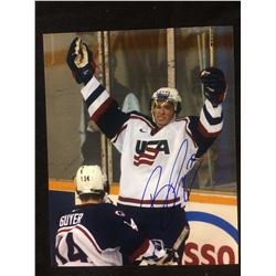 RYAN KESSLER SIGNED TEAM USA 10 X 14 W COA