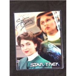 AUTOGRAPHED STAR TREK 8 X 10 WITH COA