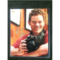 AARON ASHMORE SIGNED SMALLVILLE 8 X 10 WITH COA