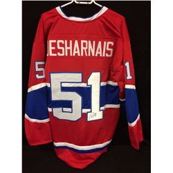 David Desharnais Signed Canadiens Jersey (JSA)