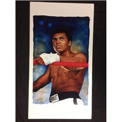 MUHAMMAD ALI PRINT BY GLEN GREEN 12 X 18