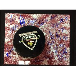 16 X 20 TEAM SIGNED VANCOUVER GIANTS PHOTO W COA