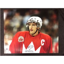 LIMITED EDITION AUTOGRAPHED MILAN LUCIC 16 X 20 PHOTO 6/10