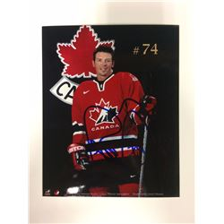 2002 OLYMPIC TEAM CANADA 6 X 8 SIGNED PHOTO THEO FLEURY