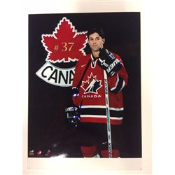 2002 OLYMPIC TEAM CANADA 6 X 8 SIGNED PHOTO MICHEAL PECA