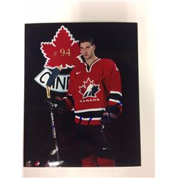 2002 OLYMPIC TEAM CANADA 6 X 8 SIGNED PHOTO RYAN SMYTHE