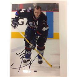 TODD BERTUZZI SIGNED 6 X 8 PHOTO