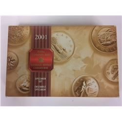 2001 SPECIMAN SET IN BOX SEALED
