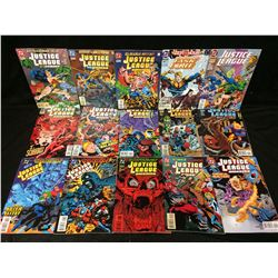 JUSTICE LEAGUE OF AMERICA COMIC BOOK LOT (#110, 16, 109 & MORE...)