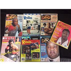 THE RING BOXING MAGAZINE LOT