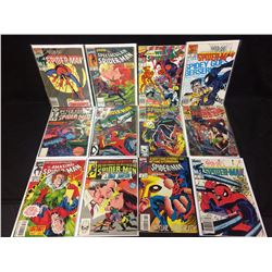 SPIDER-MAN COMIC BOOK LOT (#4, 13, 80, 387 & MORE...)