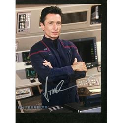 DOMIMIC KEATING AUTOGRAPHED 8 X 10 WITH COA