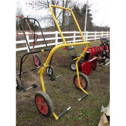 Big wheel snowmobile dolly