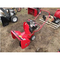 "Troybilt 21"" cut 2 stage snowblower"