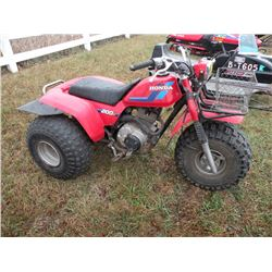 1984 Honda 200S 3 wheeler -From Estate SN#-JH3TB053XEC400280
