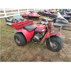 1982 Honda 200 3 wheeler -From Estate SN#-JH3TB0510CC134867