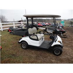 2009 Yamaha gas golf cart SN#-JW1212312