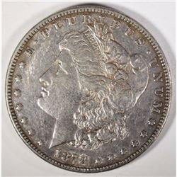 1878 7 TF MORGAN DOLLAR XF
