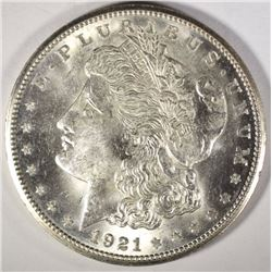 1921-S MORGAN DOLLAR CH/GEM BU