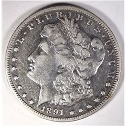 1891-CC MORGAN DOLLAR F/VF