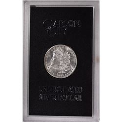 1883 CC MORGAN DOLLAR GSA WITH CARD GEM BU