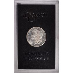 1884 CC MORGAN DOLLAR GSA WITH CARD GEM BU