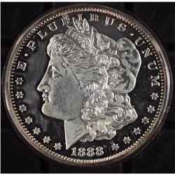 1 lb  Fine Silver- Replica of Morgan Silver Dollar