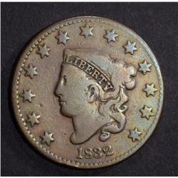 1832 LARGE CENT VG/F